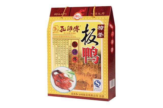 孔師傅樟茶板鴨禮盒