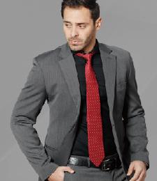 13-01真絲色織領帶