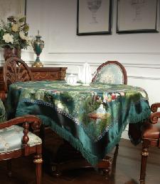 18-02 台毯 96×96CM(绿色)