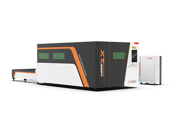 G series-Fully enclosed fiber laser cutting machine