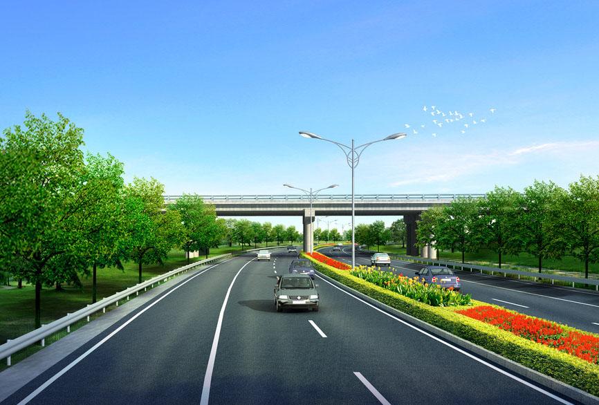 濟南市長清區燕傅路、漩劉路市政道路改造及擴建