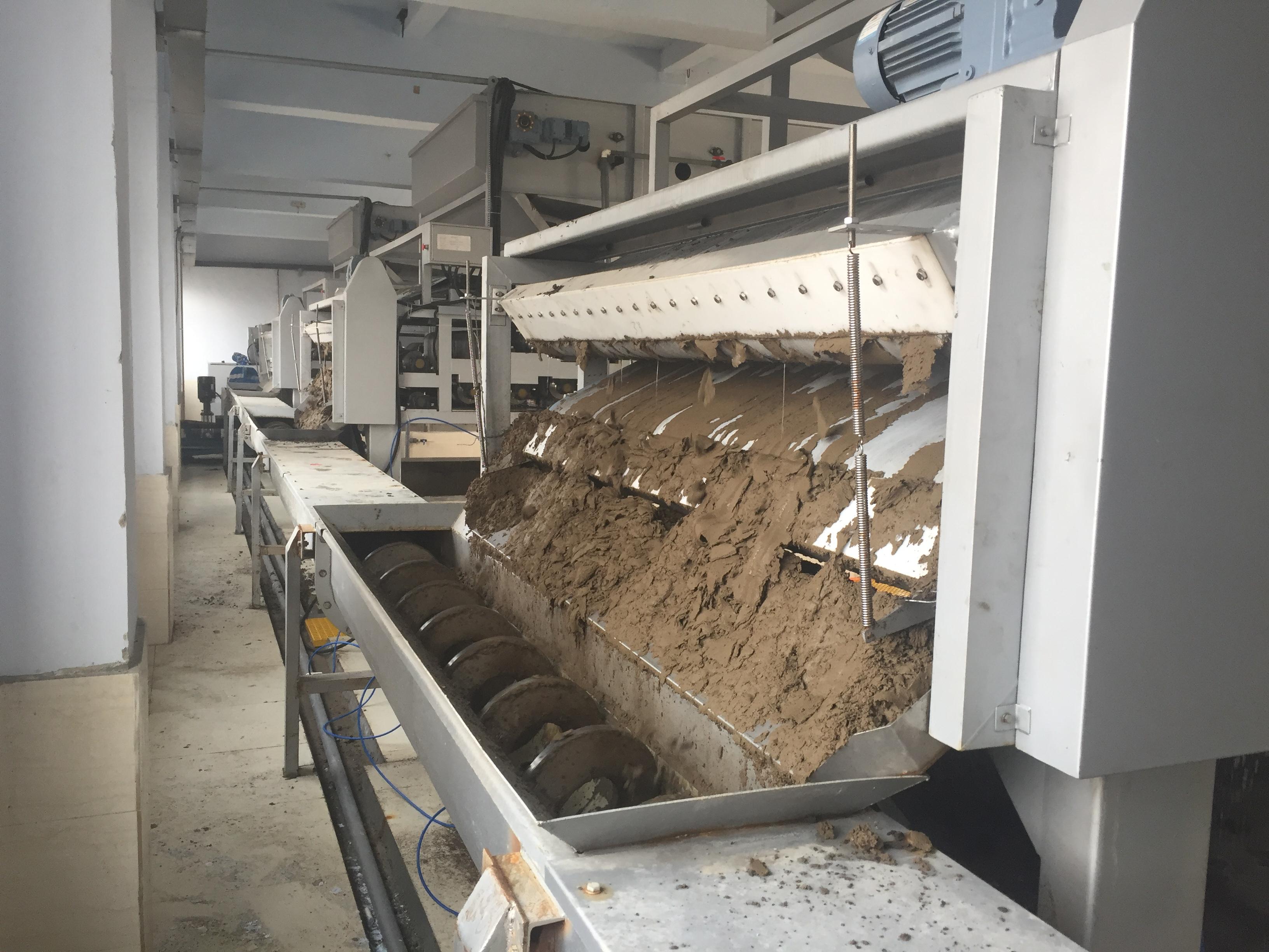 山西運城污水處理廠