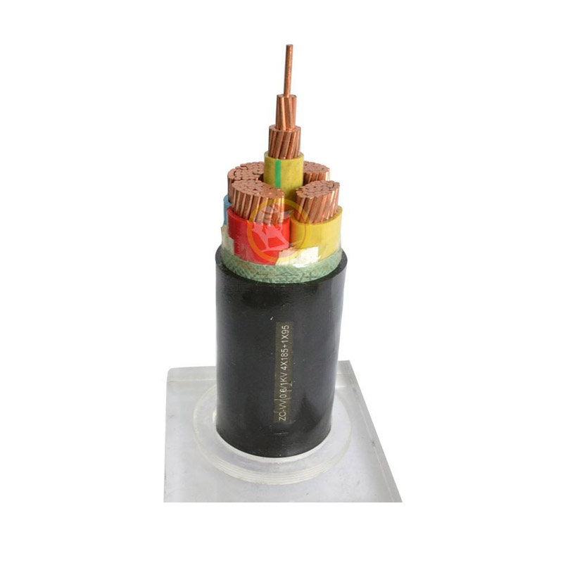 0.6/1KV及以下聚氯乙烯绝缘及护套电力电缆(VV、VV22)