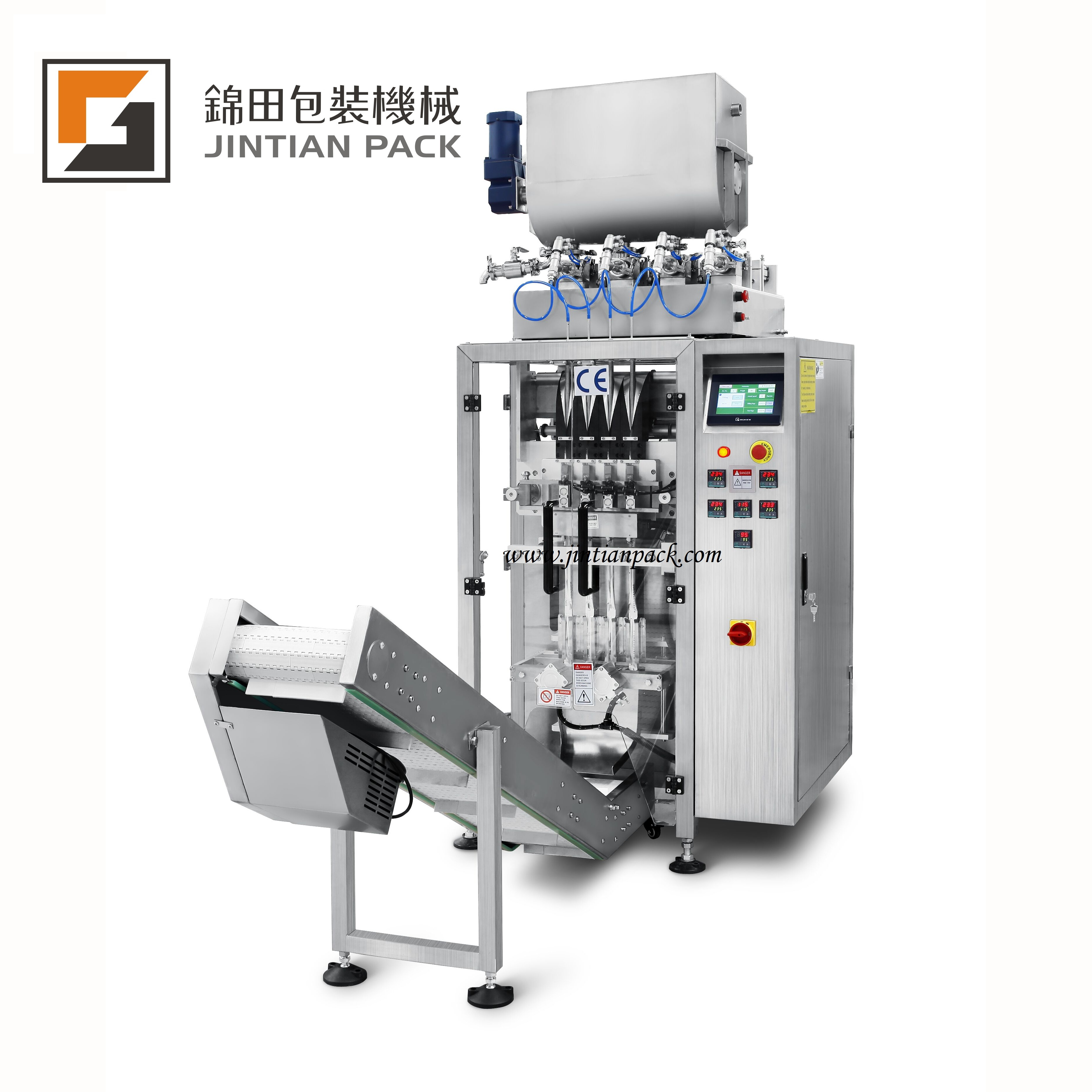 JT-420-4K 4 lanes liquid vertical packing machine