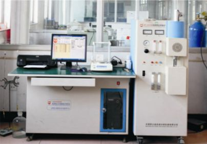 High frequency infrared carbonand Sulfur analyzer