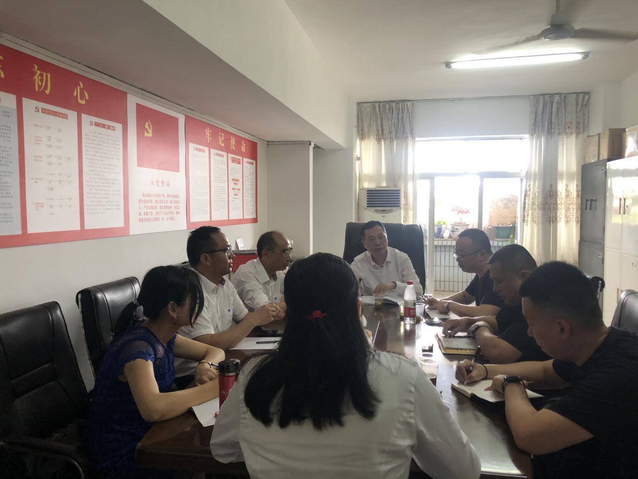 新五豐黨委書記、董事長何軍赴廣東分子公司調研