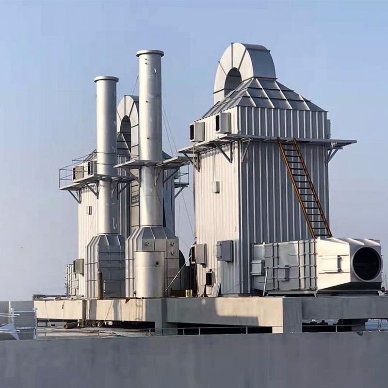 工業油煙凈化器處理熱油煙的治理工程方案