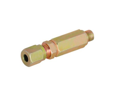 Extension check valve connectors