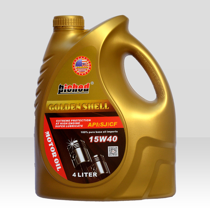 Lubricant lucringcating oil-Motor oil-金壳SJ-CF-15W40-4L(1)