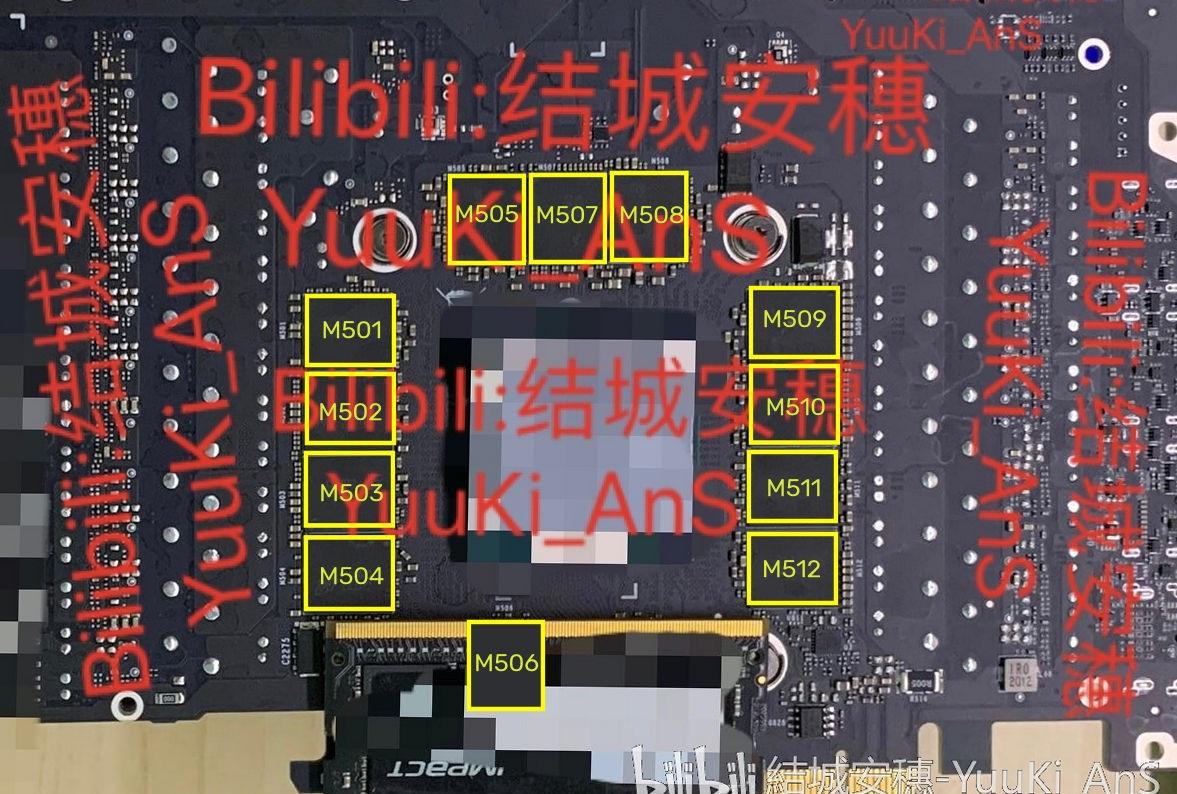 英偉達 RTX 3090 顯卡 PCB 曝光:24GB 顯存,NVLink 金手指大改