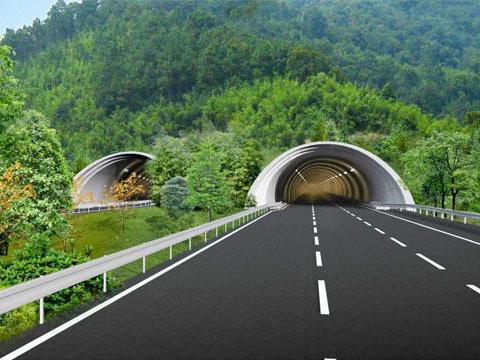 龙港新城北岭山隧道