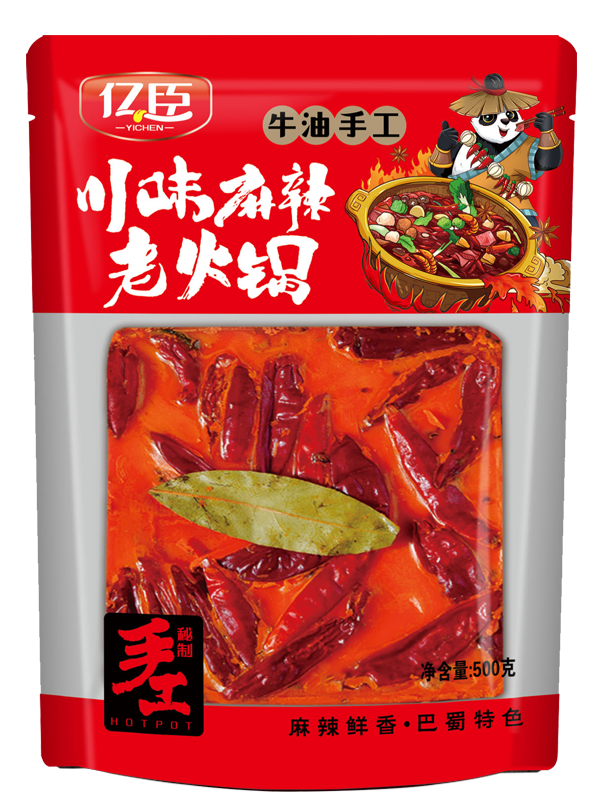 億臣川味麻辣老火鍋500克