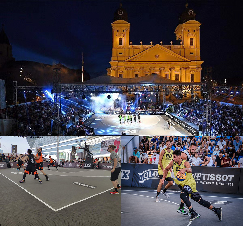 Fiba 3x3 world tour. Debrecen, Hungary