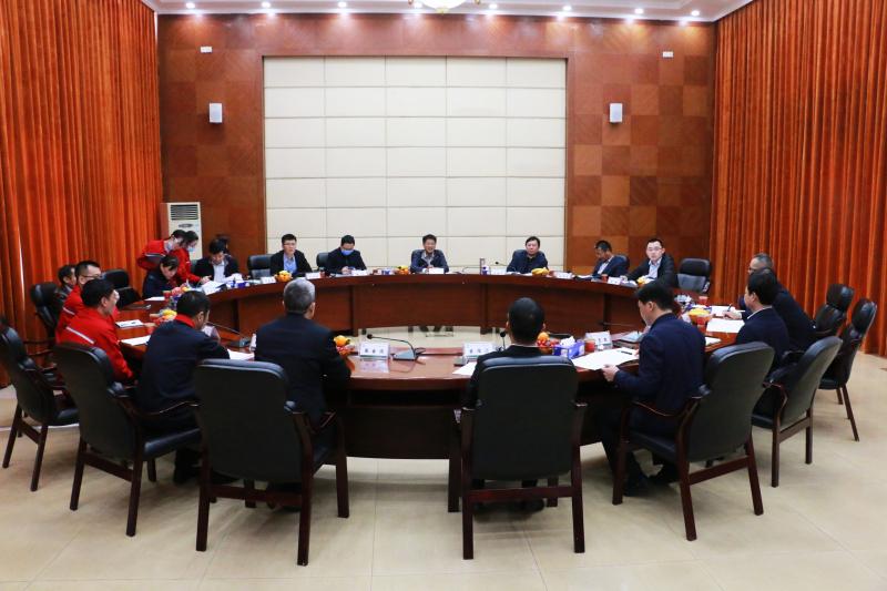 国家能源局科技司副司长夏兴一行来金澳集团考察调研