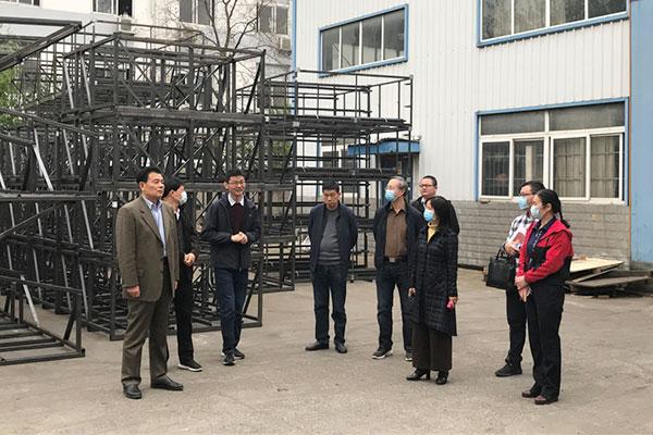 肥西縣政協領導蒞臨安徽黃埔機械指導工作