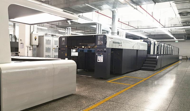 彩印公司引進多臺新設備助力制造新高度