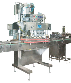 SZS type automatic upper cover capping machine
