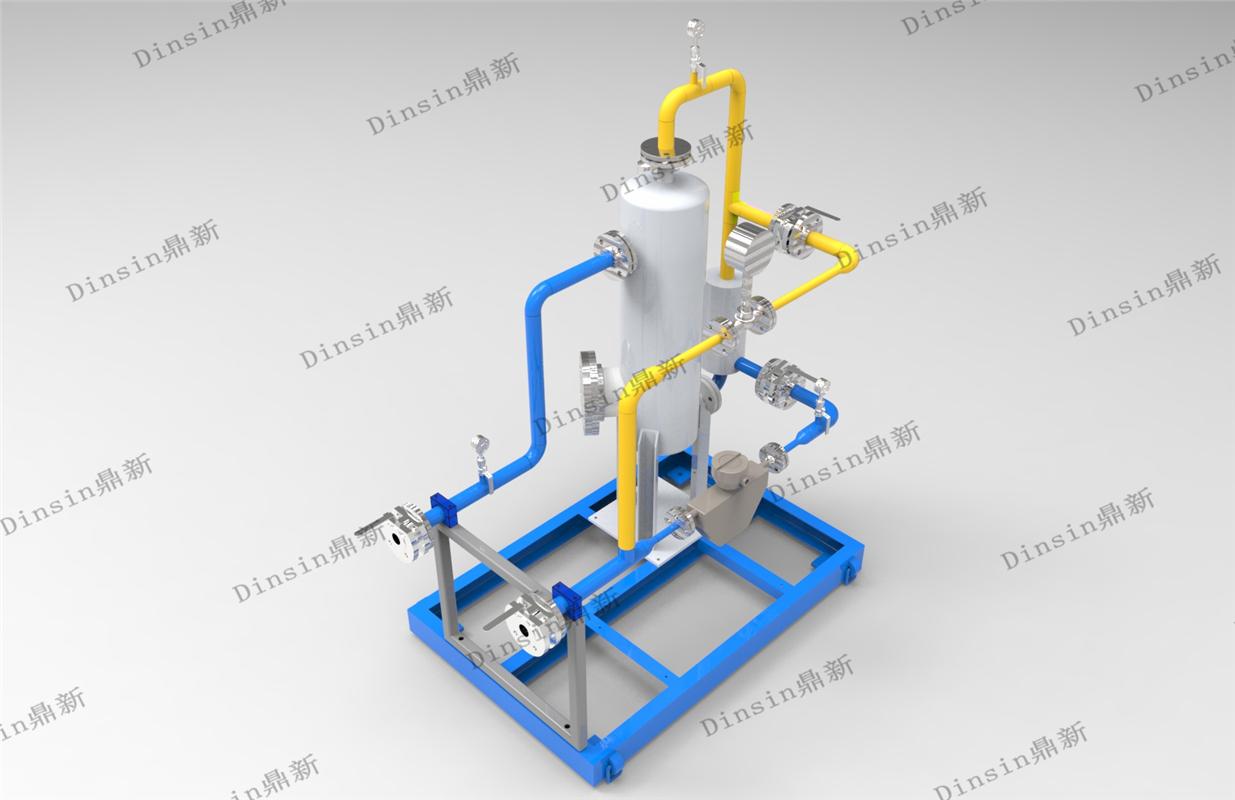 撬裝式原油三相分離計量裝置