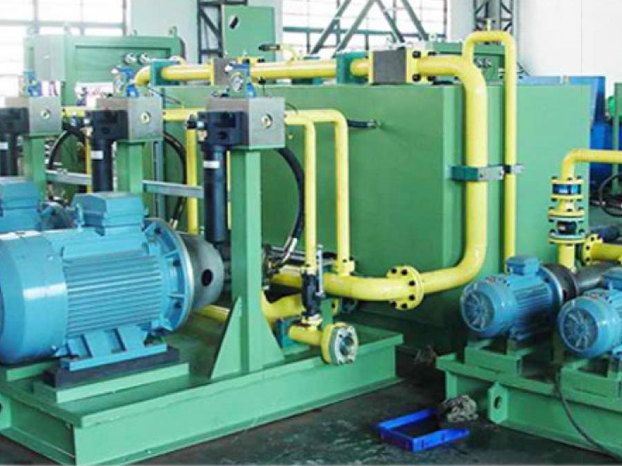 液壓系統總裝