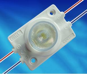 MJW154B,1燈1.2W 3030帶光學15x45°注塑模組