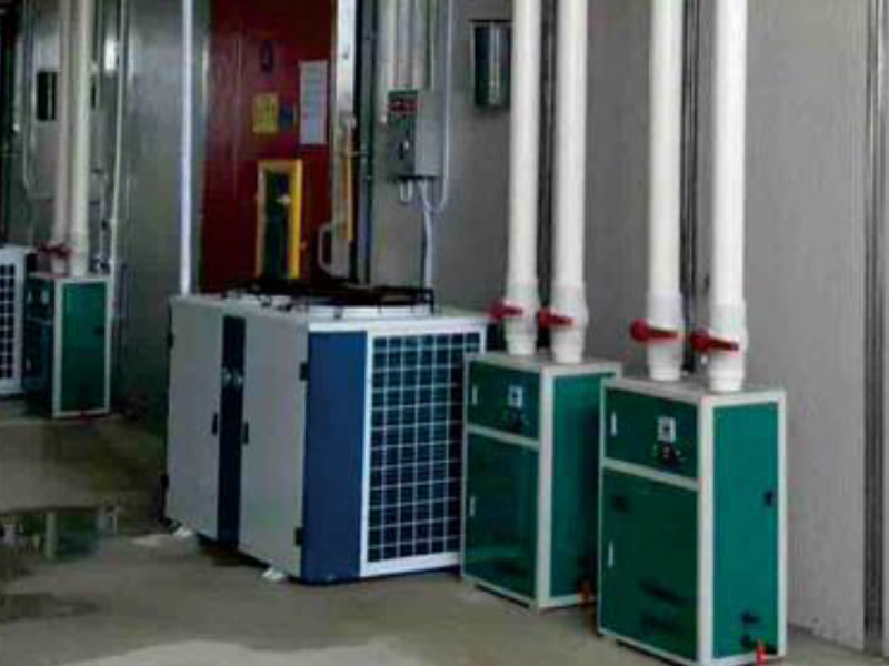 (氣調冷庫)嘉興水果批發市場800平方氣調庫調試中,驗收合格20號交付客戶使用
