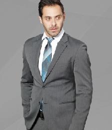 13-04真絲色織領帶
