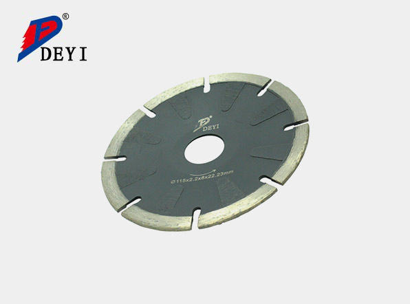 Fired small saw blade
