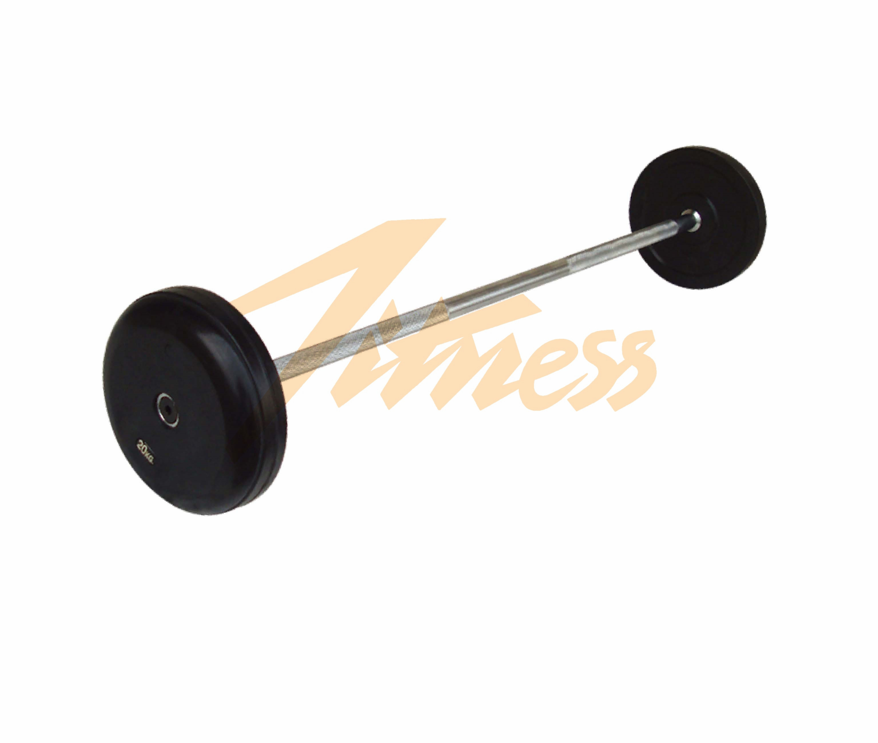 RUBBER BARBELL