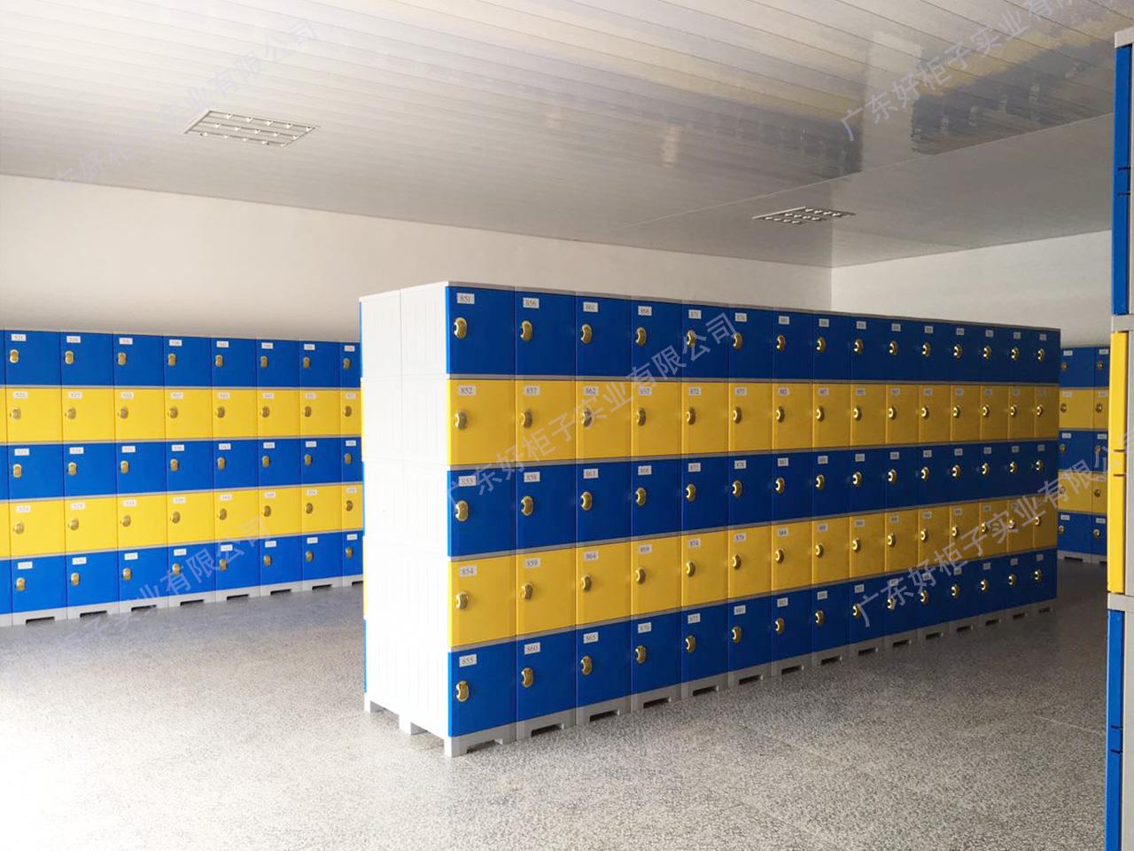 武鋼體育中心水上樂園防水塑料柜