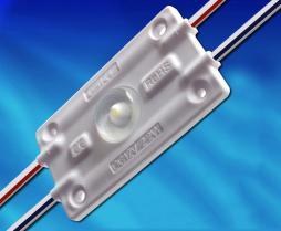 MDW155D, 1灯2.2W 3535带光学160°注塑模组