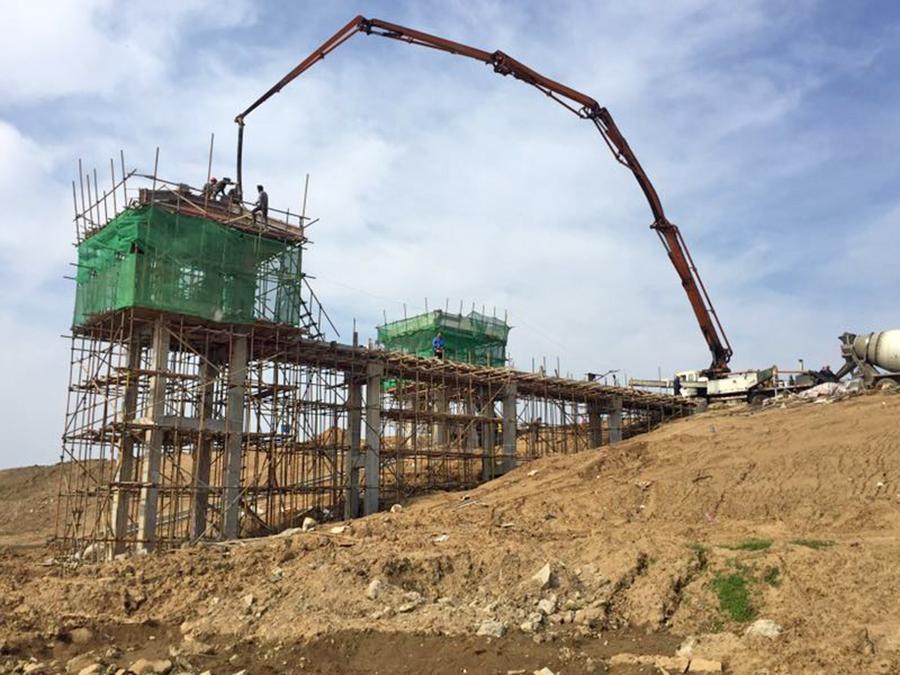 湖北省汉江堤防加固重点工程(府澴河段)第九标段