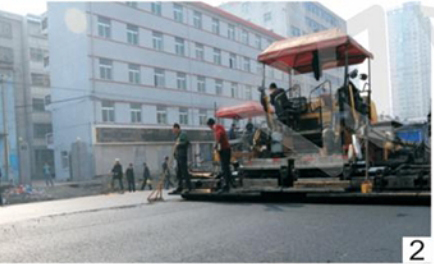 Beihai city road asphalt pavement