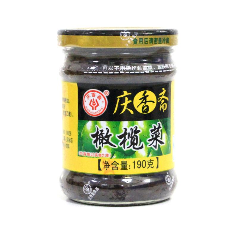 慶香齋橄欖菜(190克)