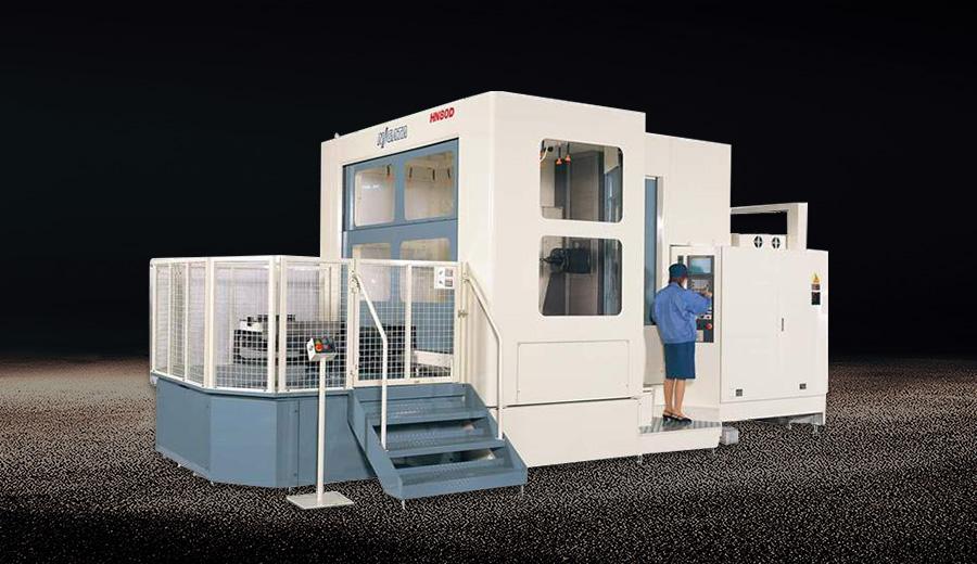 新瀉HN80D臥式加工中心