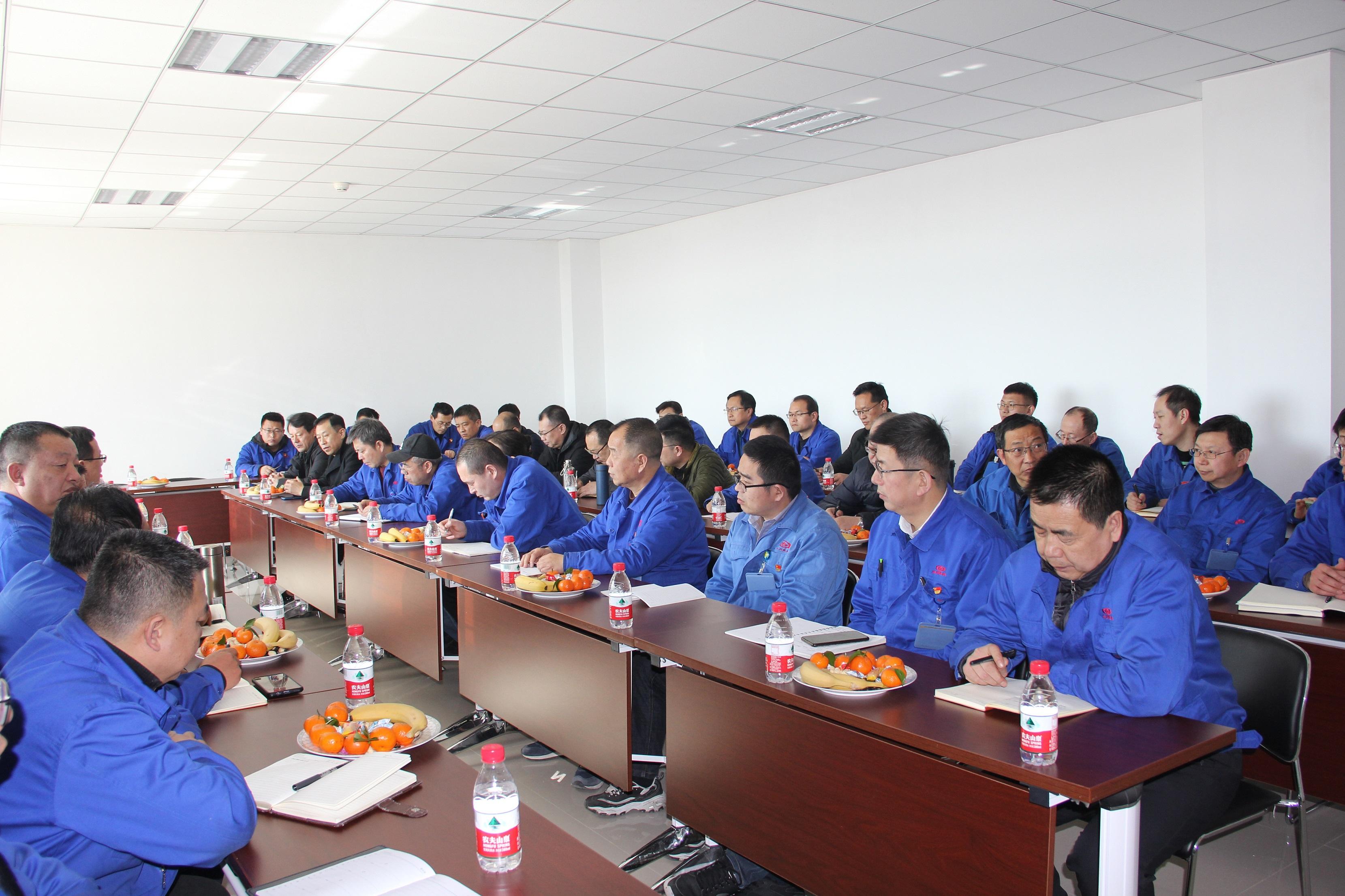 高育忠等领导参加销售公司与技术中心联谊活动