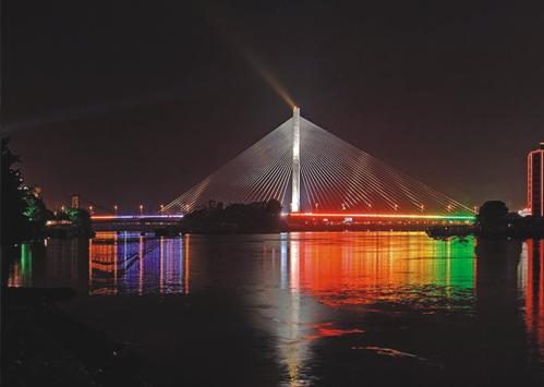 福州三县洲大桥