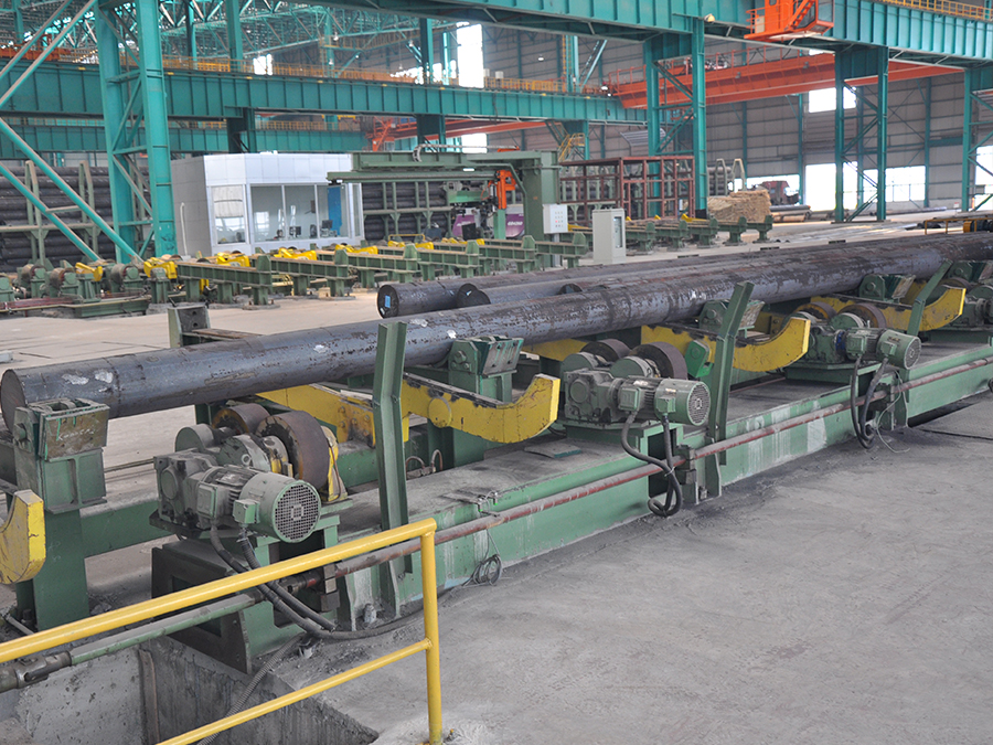 鋼管內外修磨機-上料臺架