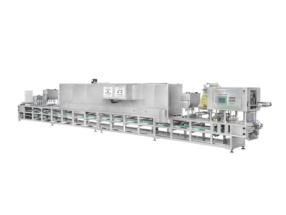 CFD-4-2S 双色果冻封口包装机 多色果冻生产设备 果冻灌装机设备