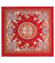 18-01台毯 96×96CM (红色)