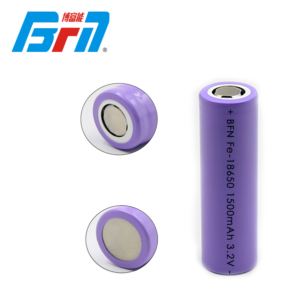 18650 1500mAh LFP Battery