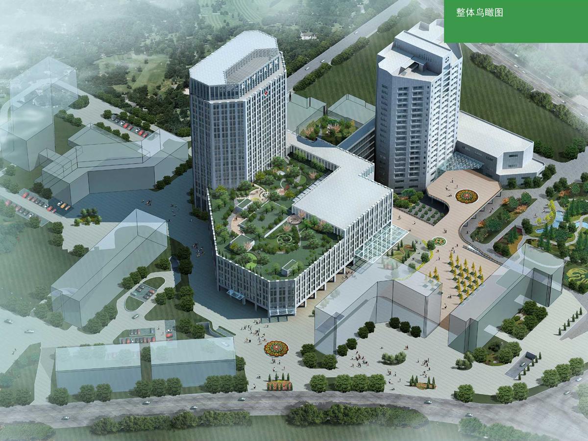 东阳市人民医院医疗综合大楼