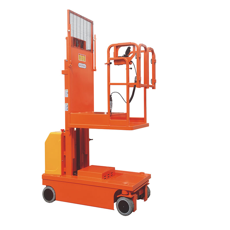 Whole-electromotion aerial order picker