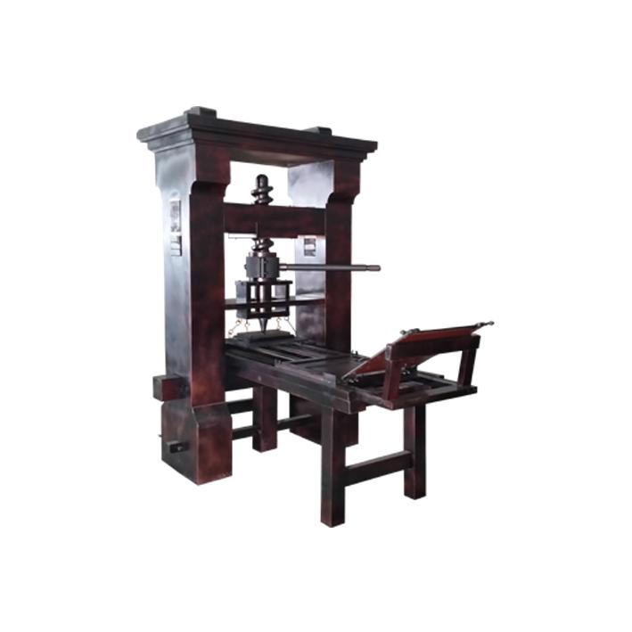YJ-09C 仿古木制印刷機
