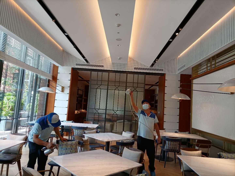 鼎龍希爾頓花園酒店16000方空氣治理
