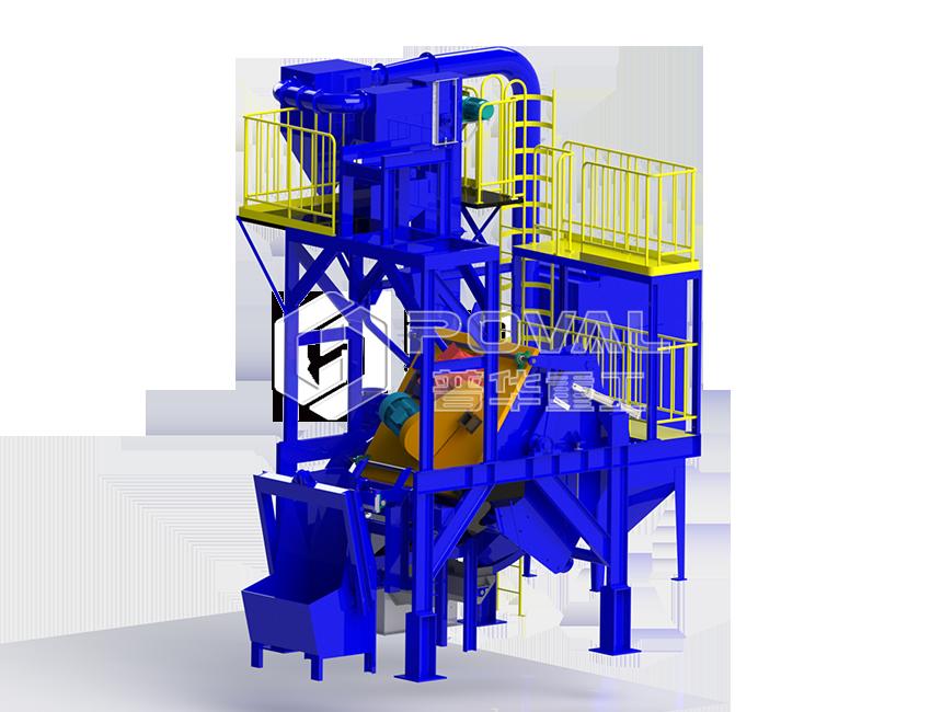 PHGT15型傾斜滾筒式拋丸清理機