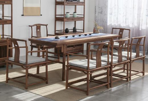 老榆木明式---茶室系列