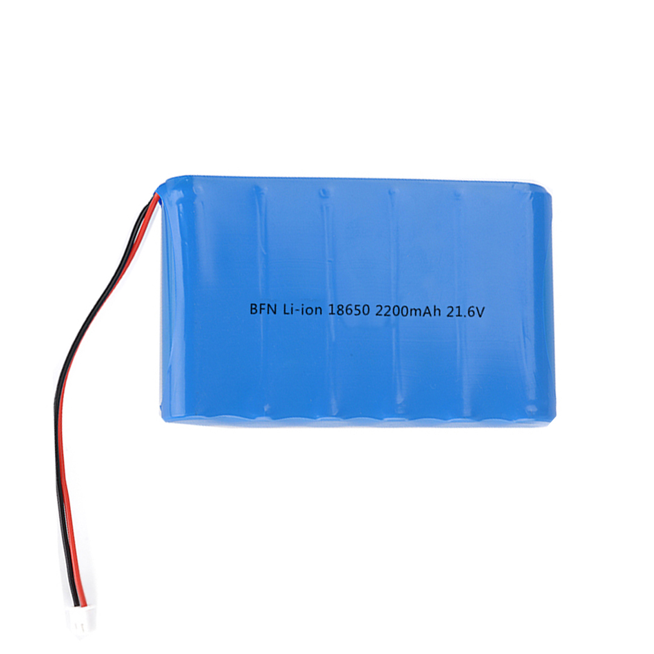 Bofuneng Lithium ion battery 6S1P 18650 2200mAh 21.6V battery pack for vacuum cleaner