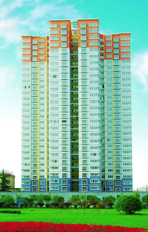 西北电力设计院C幢高层住宅楼