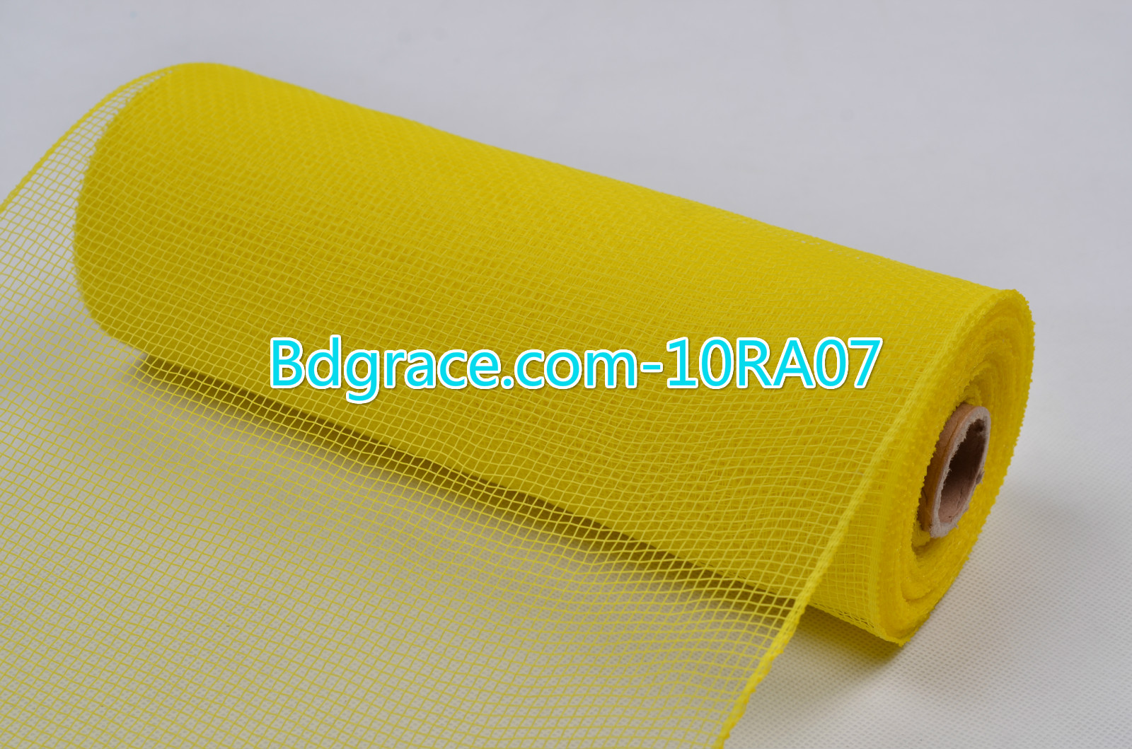 10inch Plain Solid Mesh 10RA07 Yellow
