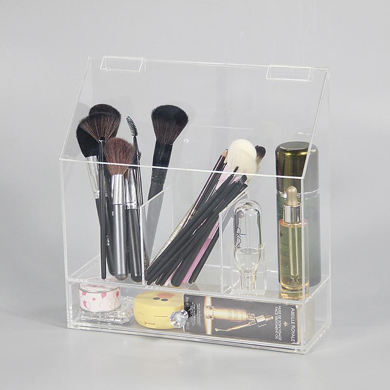亞克力定制合肥廠家有機玻璃化妝品收納